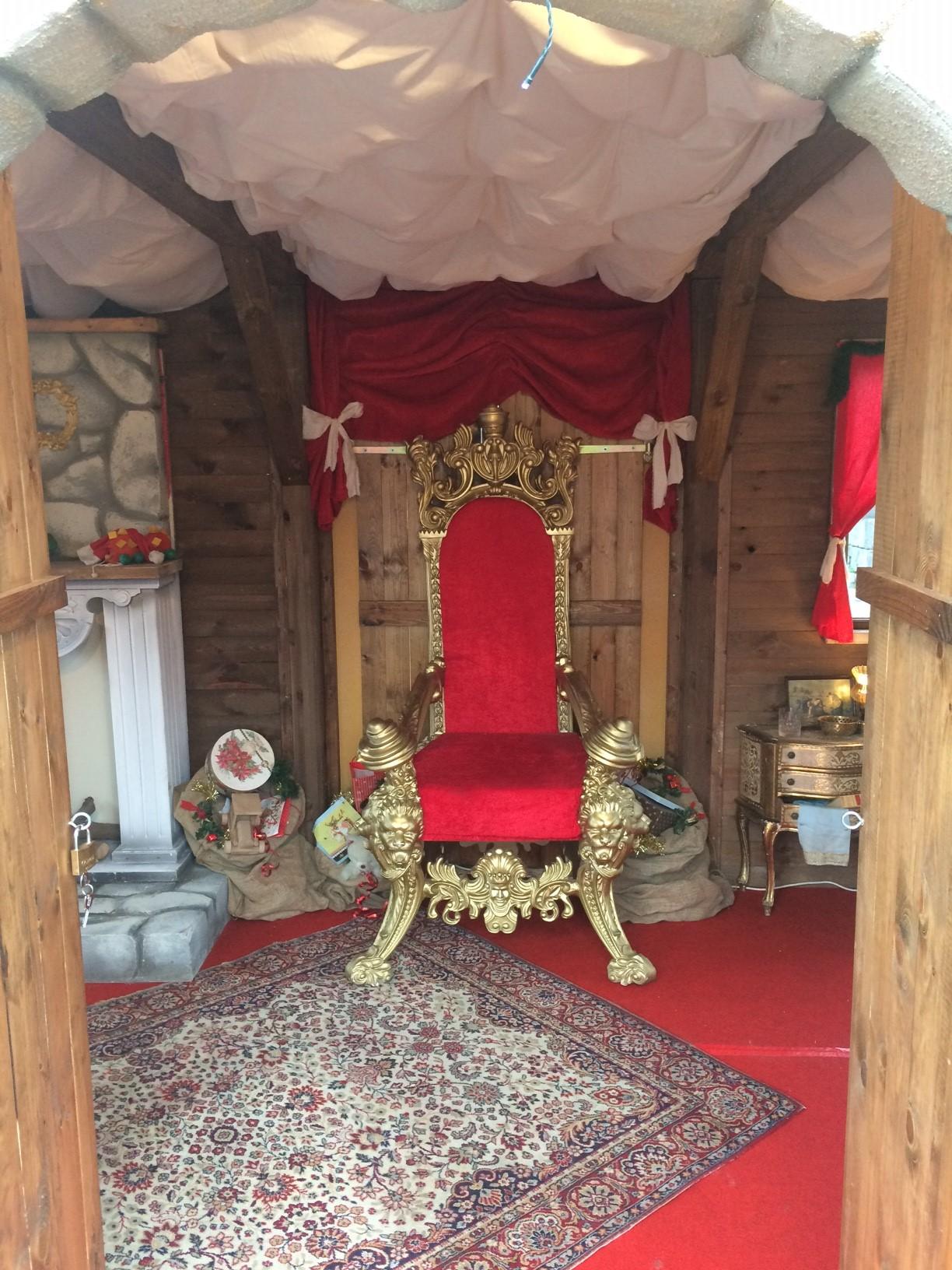 Chalet de Noël décoration