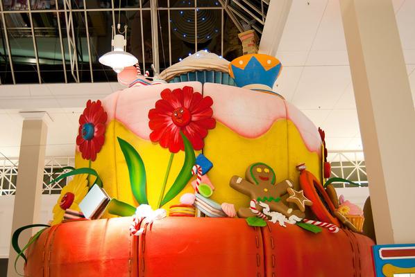 Décor du palais cupcake