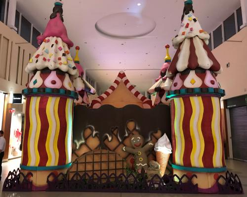 Decor of the Ice Cream Palace