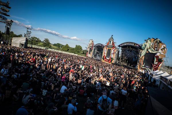 Mainstage van Hellfest 2015