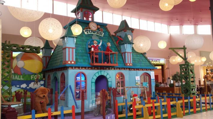 Decor of Toy Story Puppet House