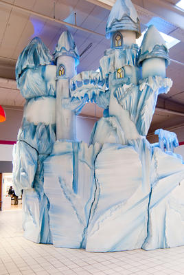 Decor of Ice palace