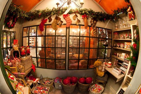 Décor de l'auberge de Noël