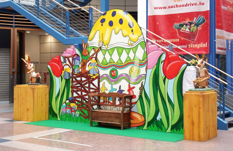 Giant Easter Displays