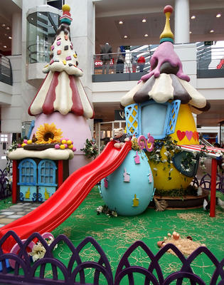 Decor of Candy Eggs