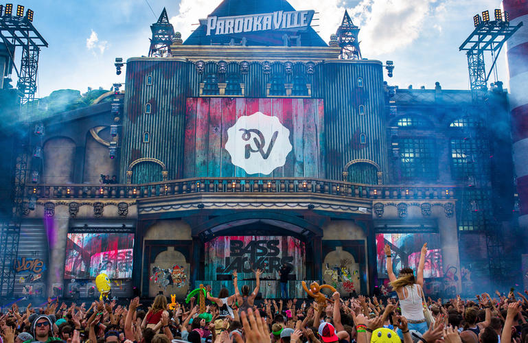 Parookaville Main and second Stage – Duitsland