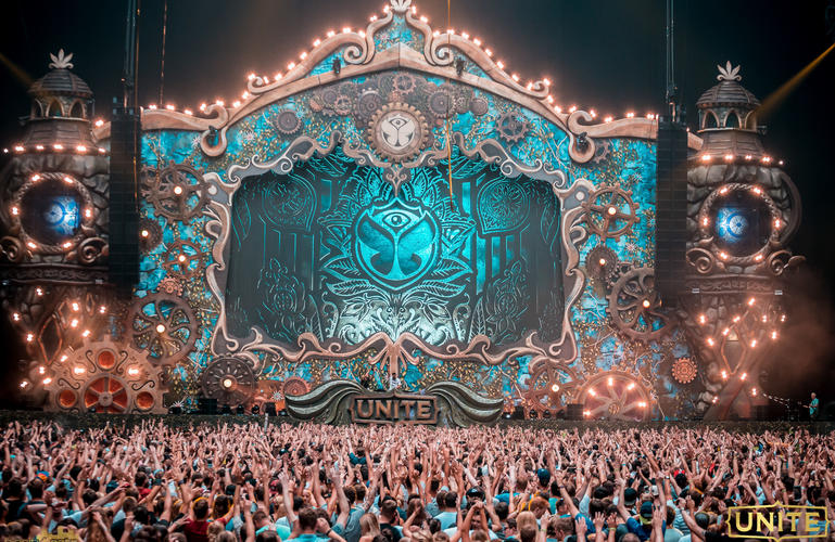 Tomorrowland Unite Stage
