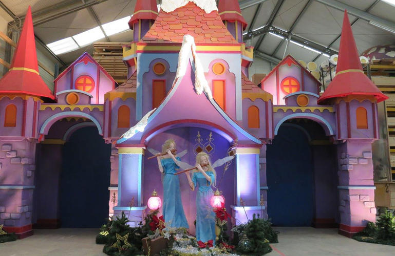 Le petit château de fées