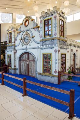 Decor van het Kasteel van Sinterklaas