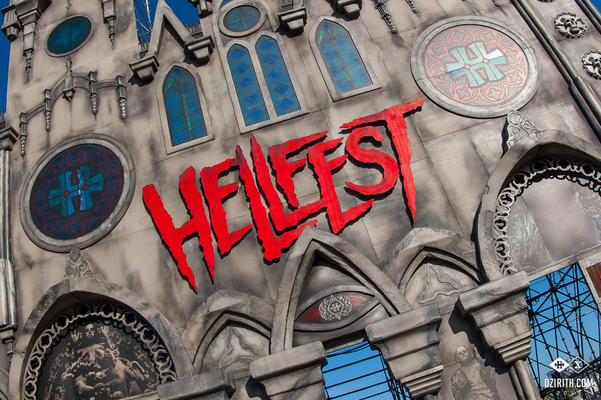 Cathedral Entrance of Hellfest 2015