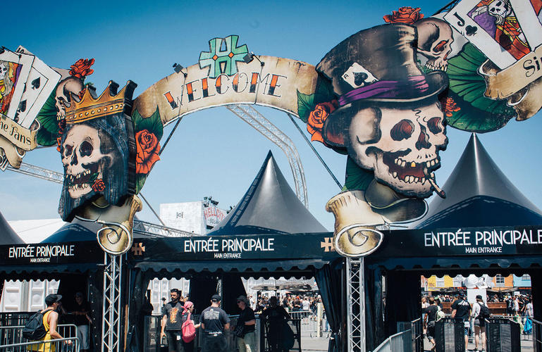 Hellfest Old School Tattoo Entrance – FR