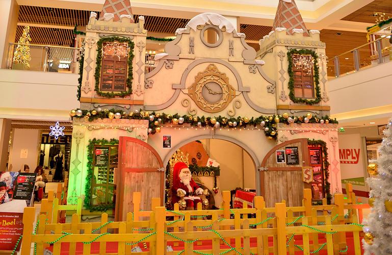 Santa Claus' castle