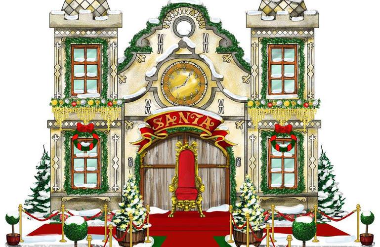 Het kasteel van de Kerstman