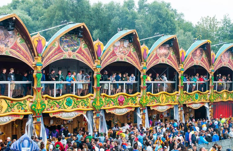 Tomorrowland Opera bars – Belgium