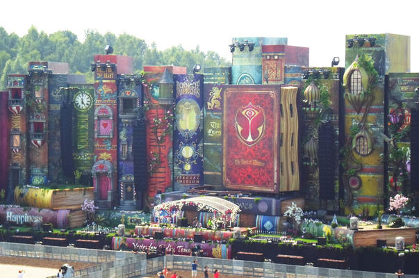 The book of wisdom - Mainstage Tomorrowland 2012