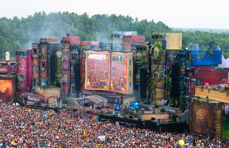 Tomorrowland Main Stage – Belgique