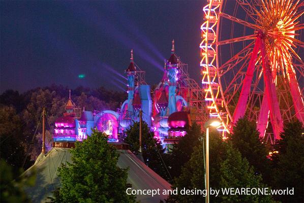 The Castle - Tomorrowland 2012