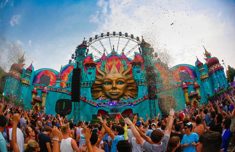 Tomorrowland The Castle stage – Belgium