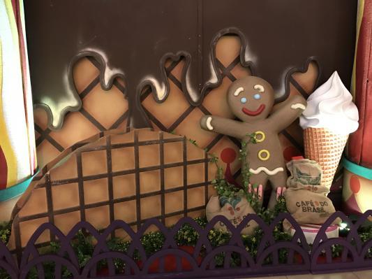 Décor du palais des crèmes glacées