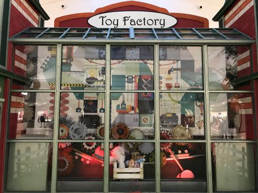 Décor de Toy Factory