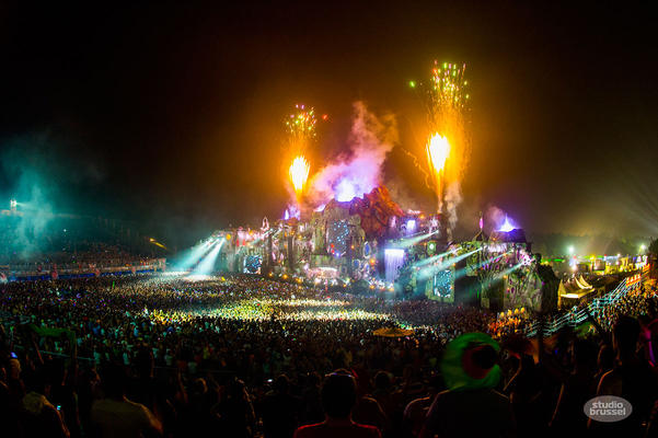 Main Stage Tomorrowland 2013