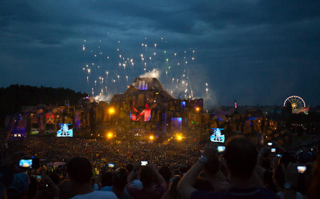 Main Stage van Tomorrowland 2013