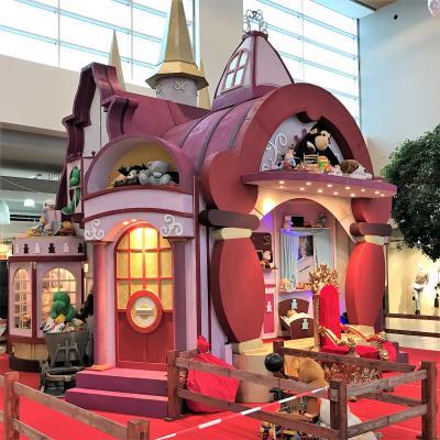 Décor du château des jouets