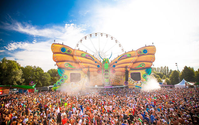 The Butterfly - Tomorrowland 2013