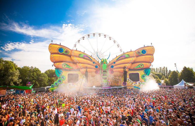 Tomorrowland Butterfly Stage