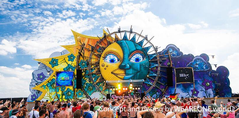 Dreamville - Tomorrowland 2013 - 2016