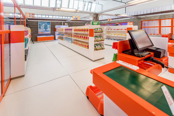Overview of the supermarket