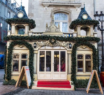 Ville de Luxembourg Decor Noël