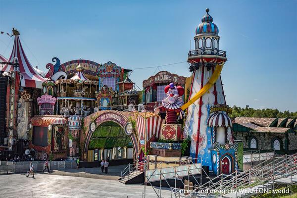 Main stage Tomorrowland 2017