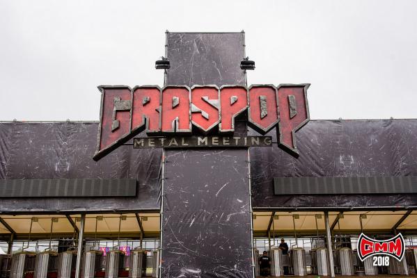 Graspop logo entrance