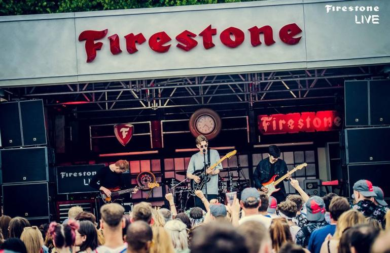 Firestone Music Tour – autour Europe