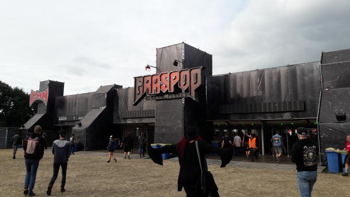 Graspop logo ingang