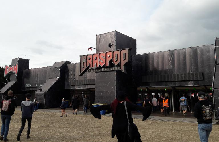 Graspop Metal Meeting 3D logo – Belgium