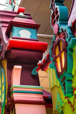 Decor of the princesses castle