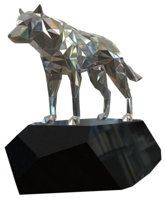 680-585,Crystalline Wolf,Indoor,3D,si,~200x110x45cm.png