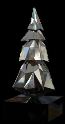 680-592,Crystalline Tree,Indoor,3D,si,bk,~105x250x105cm.png