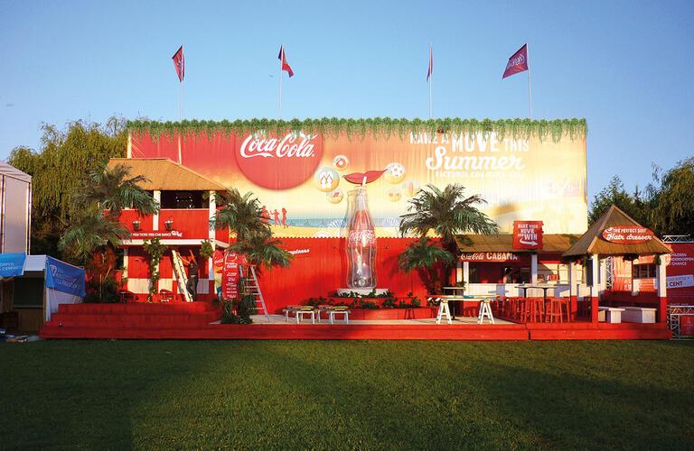 Coca Cola Cabana House