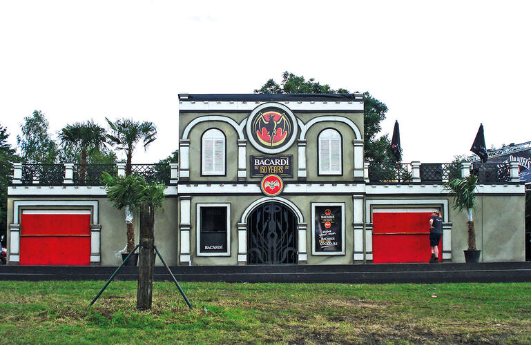 Bacardi Ancient Cuban House