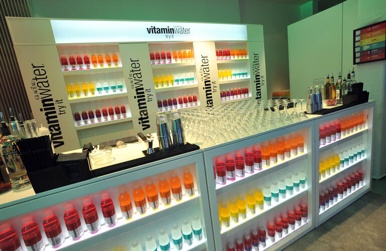 Vitamin Water sampling Store