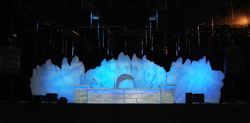 Decor of Ice world