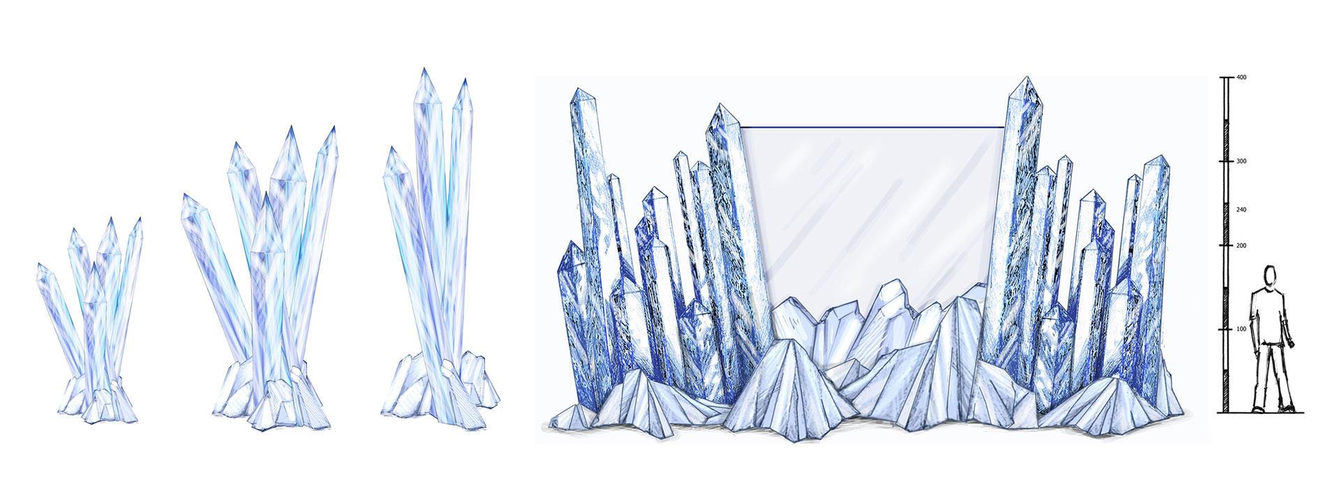 Decor of Ice world   Phixion