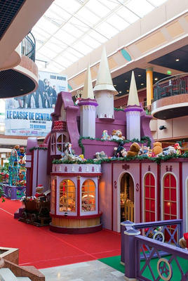 Decor of Little Toy Castle