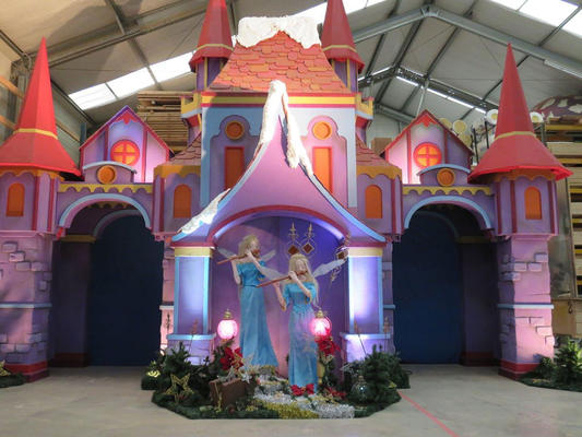 Decor of Fairy castle