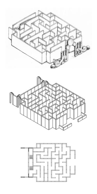 Labyrinthe en 10 pièces