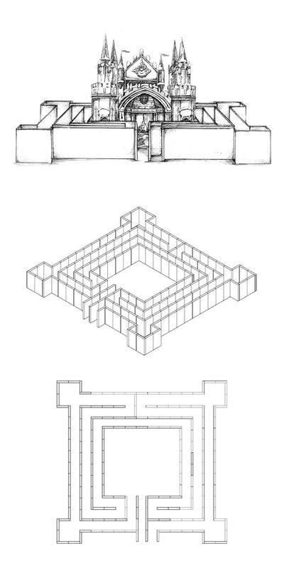 Labyrinthe en 15 pièces