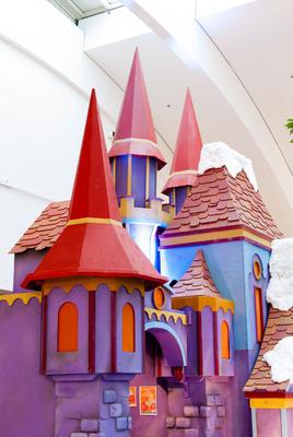 Décor du petit château de fées